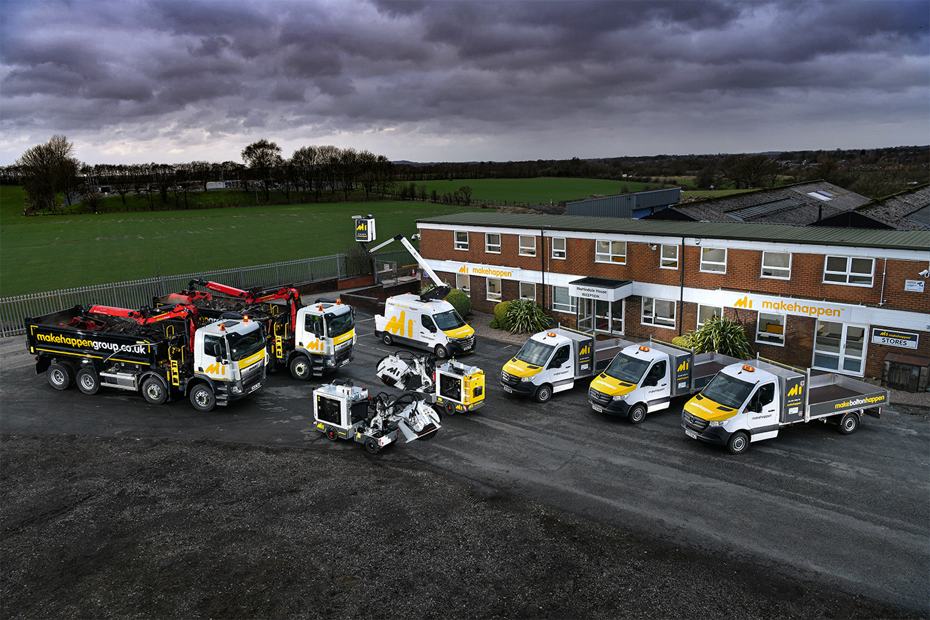 Makehappen partners with CityFibre and moves into new North West Depot to bring full fibre to homes and businesses in Bolton, creating up to 100 career opportunities